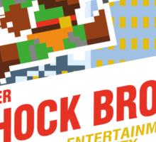 Super Shock Bros Sticker