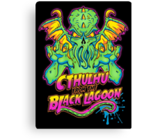 Cthulhu from the Black Lagoon Canvas Print