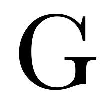 The Letter 'G' by RebeccaStephens