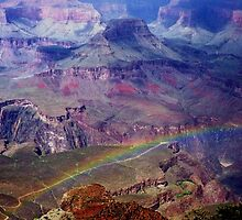 Arizona, Grand Canyon's rainbow by loiteke