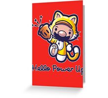 Hello Power Up Greeting Card