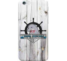Killer Dolphins (Snorky, The Simpsons) iPhone Case/Skin