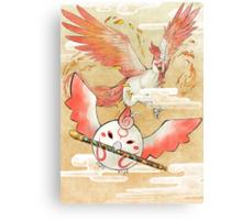Moegami Canvas Print