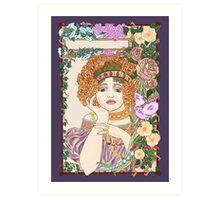 Juliet's Flower Bower Art Print
