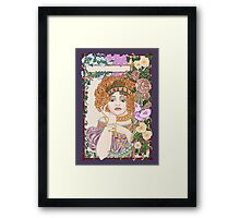 Juliet's Flower Bower Framed Print