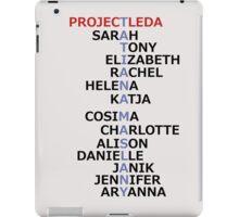 Orphan Black actress and character names (Season Two Spoilers) iPad Case/Skin
