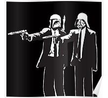 Pulp Fiction-Darth & Boba Hit Men Poster