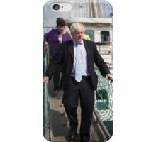 Mayor Boris Johnson marks Totally Thames with visit to TS Tenacious iPhone Case/Skin