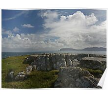 Fanad Scenery Poster
