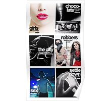 The 1975 Song Covers Poster