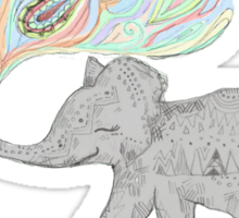 Ellie the Elephant. Sticker