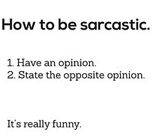 This Is Not Satire - Sarcasm by ThisIsNotSatire