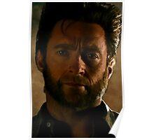 Hugh Jackman Wolverine Digital Painting Poster