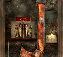 Steampunk - Alphabet - J is for Jet Pack by Mike  Savad