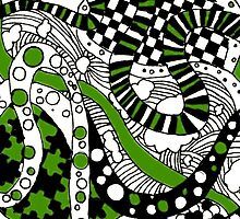 Zendoodle Orb- Green by momboy