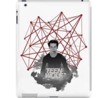 Stiles Stilinski Connected Lines iPad Case/Skin