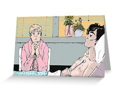His Last Vow-Hospital Vigil Greeting Card