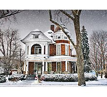 Victorian on 4th Street Photographic Print