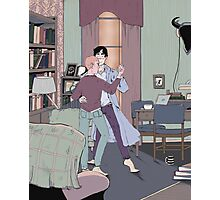 Dance Lessons in 221B Photographic Print