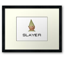 Gnome child  Framed Print