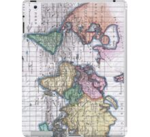 Vintage Map of The World (1780) iPad Case/Skin