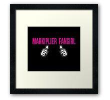 Proud Markiplier Fangirl  Framed Print