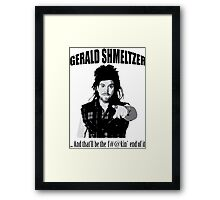 Gerald Shmeltzer Framed Print