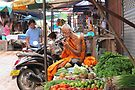 At the Morning Market © by Ethna Gillespie