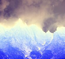 abstract mountain by spetenfia