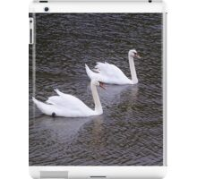 Two Swans A'Swimming iPad Case/Skin