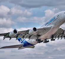 Airbus A380 - Take-Off by © Steve H Clark