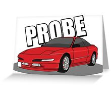 Ford Probe Greeting Card