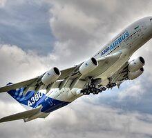 Airbus A380 by © Steve H Clark