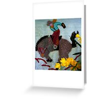There's Gold In Them Thar Hills Greeting Card
