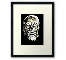 LAZY BONES Framed Print