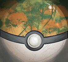Wartorn Pokeball - Safari by Zhivago