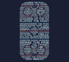 Ice Hockey Rink Typographic  Kids Clothes
