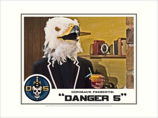"""Danger 5 Lobby Card #2 - """"Bangkok Sunrise"""" by Danger Store"""