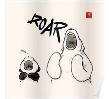 Yawn vs. Roar Poster