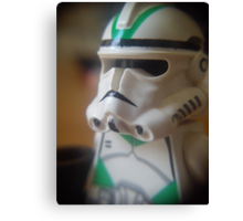 Seige Battalion Clone trooper Canvas Print
