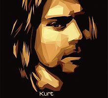 Kurt Cobain by Hardkor