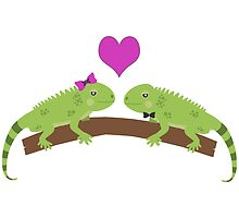 Iguana Love by Eggtooth