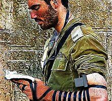 ✌☮ TEFILLIN SOLDIER @ THE WESTERN WALL(WAILING WALL)✌☮  by ✿✿ Bonita ✿✿ ђєℓℓσ