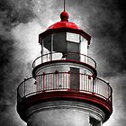 Marblehead Lighthouse - Alternate Reality by SRowe Art