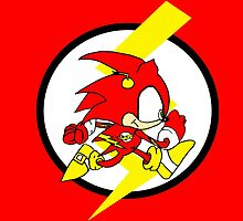 Sonic Flash by Roberto A Camacho