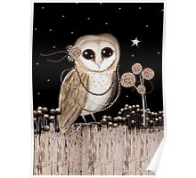 Little Barn Owl Poster