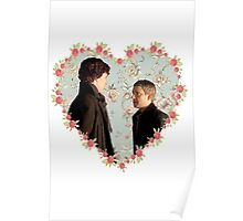 Johnlock- Heart (One) Poster
