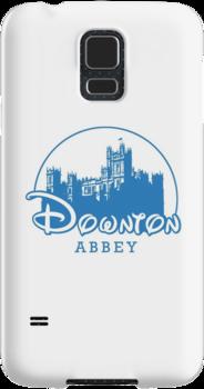 The Wonderful World of Downton Abbey (Downton Abbey + Disney logo mashup) by rydrew