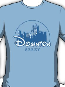 The Wonderful World of Downton Abbey (Downton Abbey + Disney logo mashup) T-Shirt