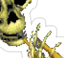 Skull Trumpet Sticker